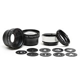 LENSBABY Accessory Kit  [LBABUND] - Camera Extension Tube and Reversing Ring